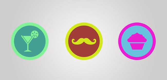 Emblemas Foursquare