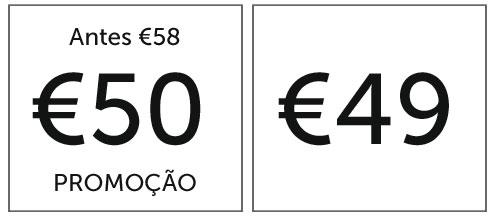 etiquetas de preços diferenças