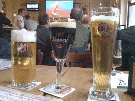 3 cervejas de marcas diferentes