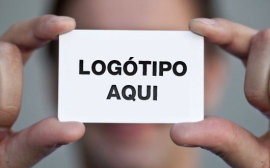 mao cartao contacto logotipo