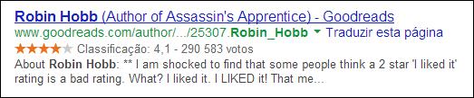 revisão no google de robin hobb