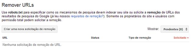Remover URLs