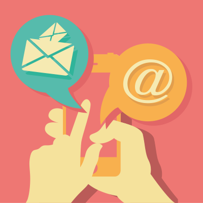 Smartphone email marketing