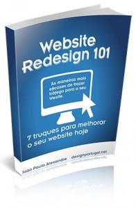 Capa para Guia Website Redesign 101