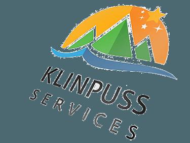 Logotipo klinpuss guine