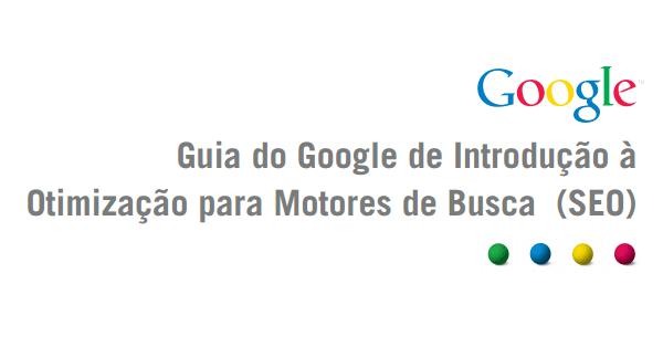 Guia do Google de introdução ao SEO