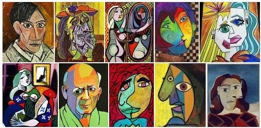 Pinturas Picasso