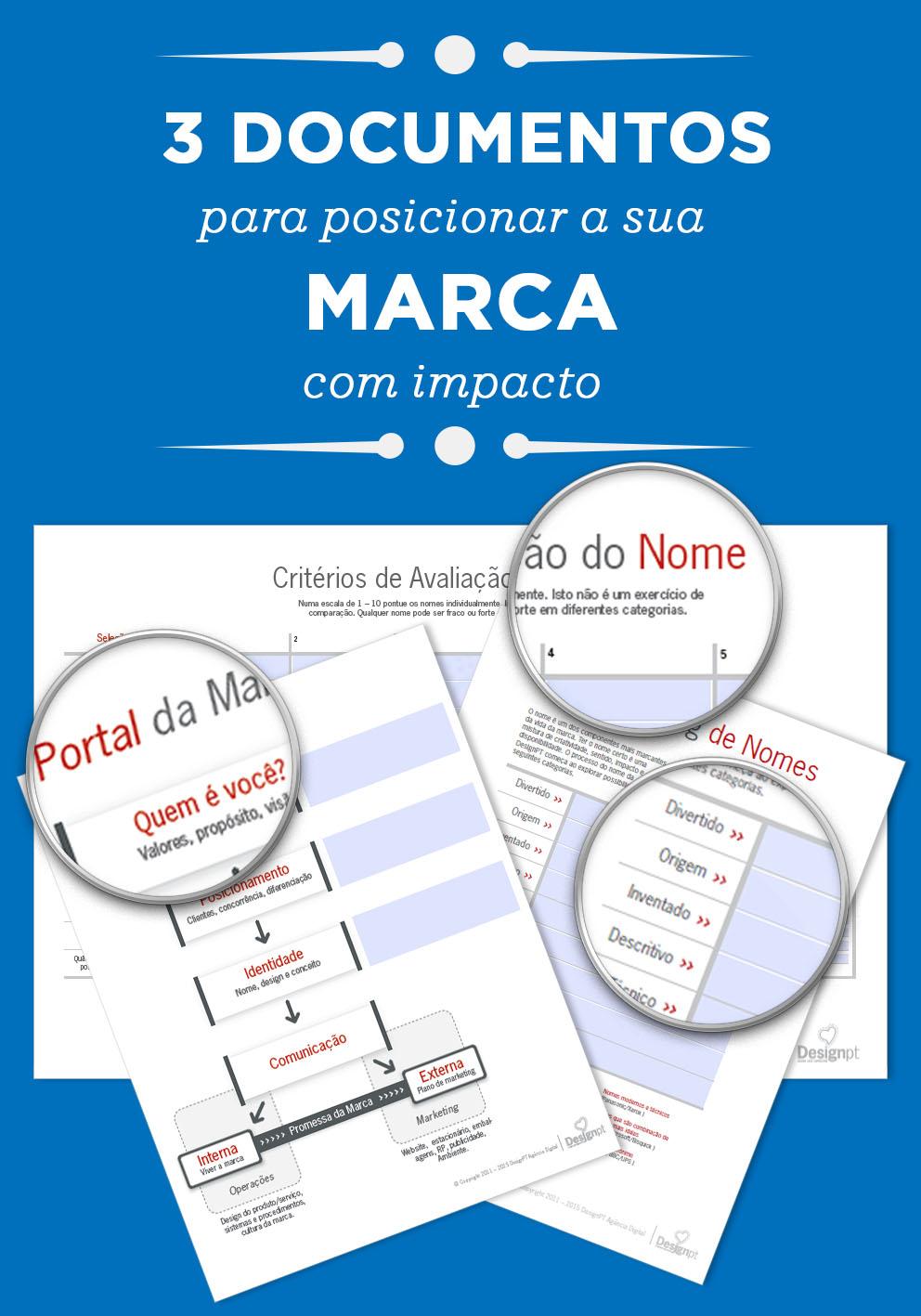3 documentos template - 3 documentos para uma marca de sucesso