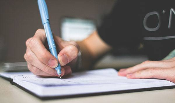 Escrever com pen