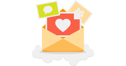 Use imagens nos seus emails