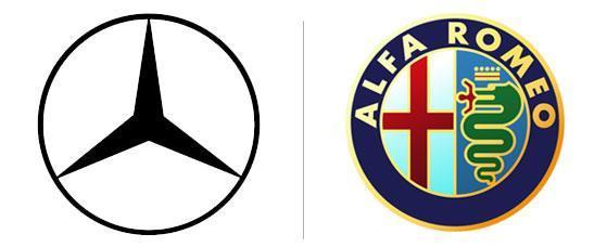 O design do logotipo determina o sucesso duma empresa logtipos da mercedes benz e alfa romeo voltagebd Image collections