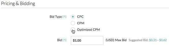 Optimized CPM (oCPM)