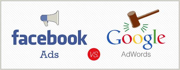 Google Adwords =/= Facebook Ads