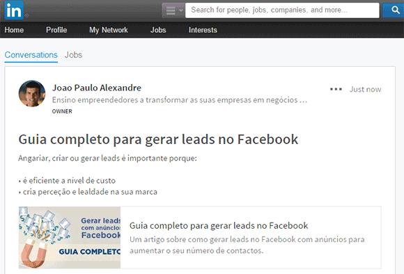 Grupo Linkedi (publicação)