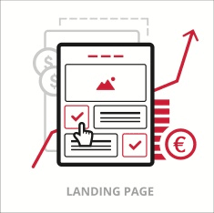 Coloque o seu local específico no site e landing pages