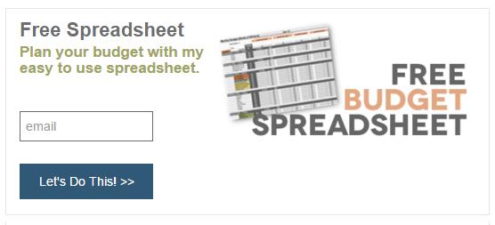 Lead magnet spreadsheet