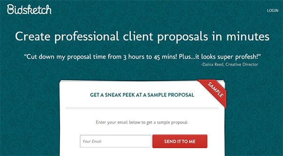 Software criador de propostas
