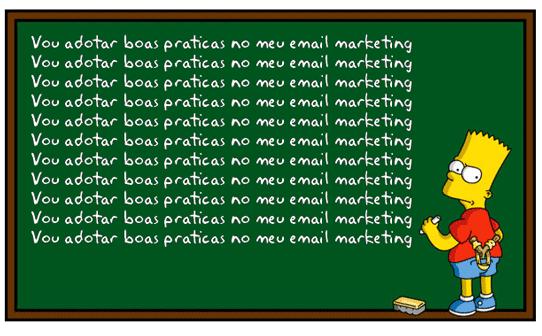 Quadro de Bart Simpson
