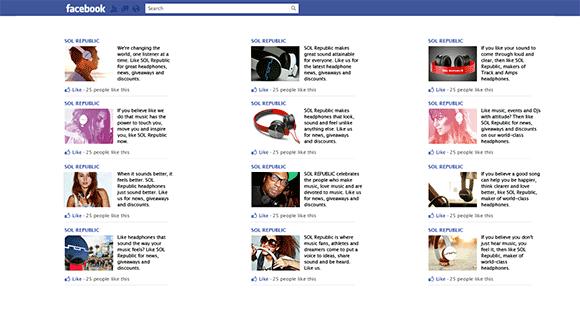 Variar anuncios Facebook