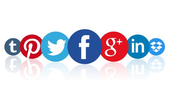 Redes sociais icones