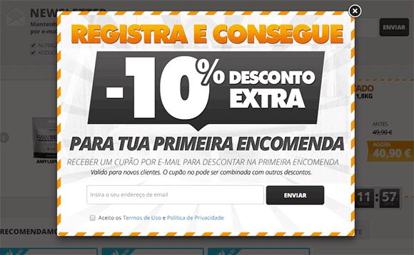Hsntore desconto 10%