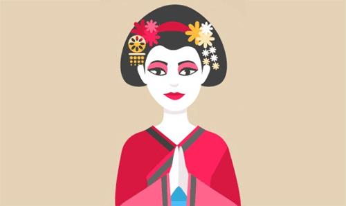 Geisha Japonesa