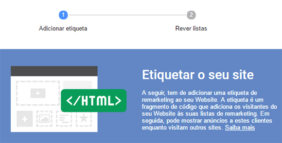 Etiquetar site online