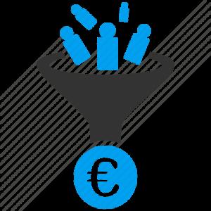 Funil clientes euro