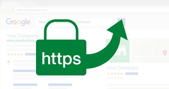 HTTPS favorecido por Google