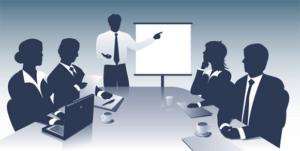 Reunião de empresa