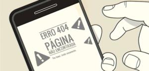 Erro 404 mobile