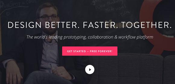Homepage Invision