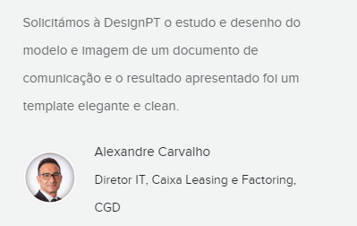 Testemunho Alexandre Carvalho