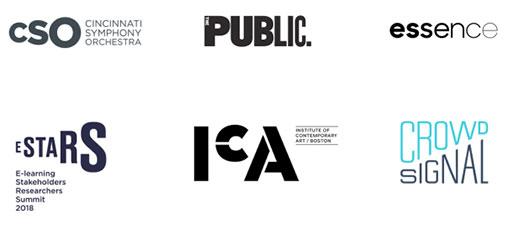 Dimensionamento uma das tendências de design de logótipos para 2020