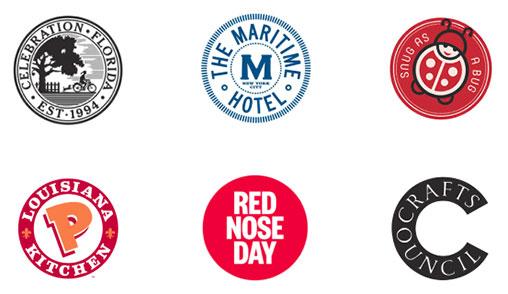 Emblemas uma das tendências de design de logótipos para 2020