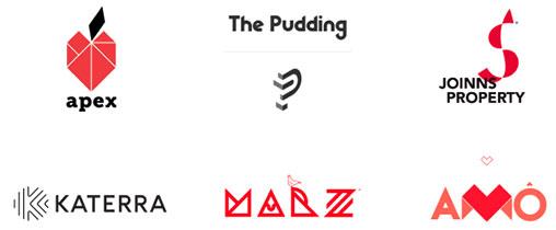 Geometria original uma das tendências de design de logótipos para 2020