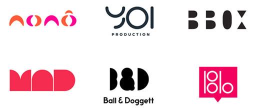 Letras geométricas uma das tendências de design de logótipos para 2020