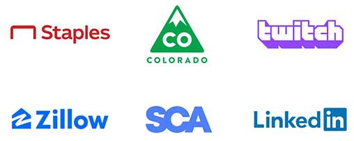 Uma cor uma das tendências de design de logótipos para 2020