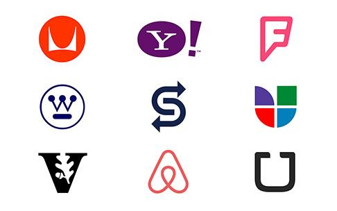 exemplos tipos de logotipos lettermark